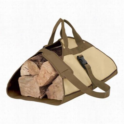 Classoc Accessories 55-056-011501-00 Veranda Log Carrier In Pebble