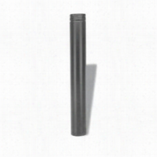 "M&g Duravent 4pvp-60b 60"""" Stright Length Pipe Black"