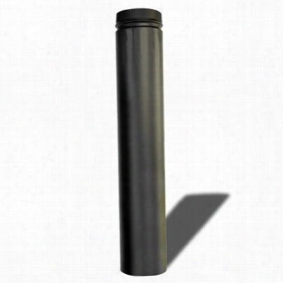 Metalbeest 266036 36in Length Dsp Double Wal 6in Stove Pipe