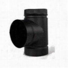 """Metalbest 2816b Saf T Pipe 8"""""""" Teeei N Black"""