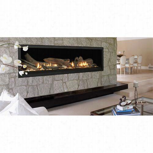 "Monessen Vwdvp70ntsc Uaa 70"""" Top Vent Linear Direct Vent Fireplace"