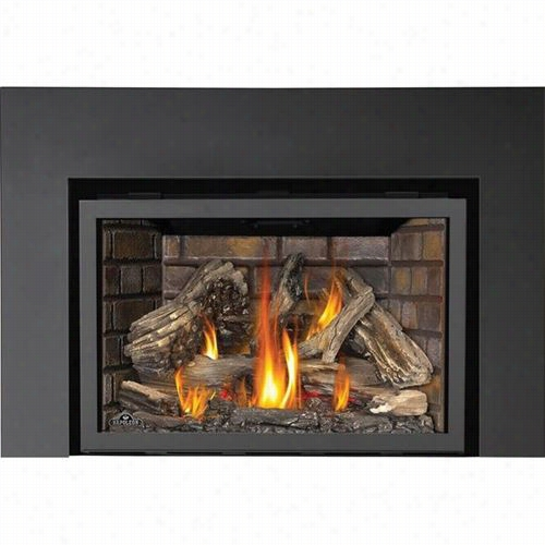 """Napoleon I3ds9 1 Piece Surround Kit In Painted Black For Openings Smaller Thna 30""""""""h X 48""""""""w"""