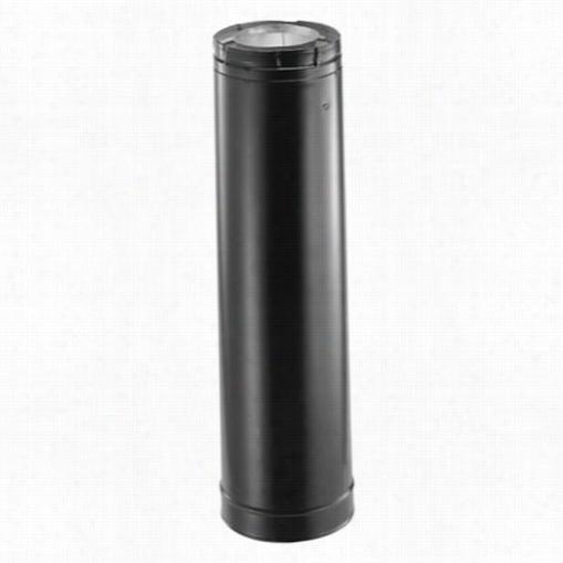 M&g Duravent 46dva-36b36 In Venting Pipe Black 4 In X 6 5/8 In Directvent Pro
