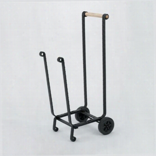 Woodfieldd 61258 Wood Cart With Wheep S In Blac