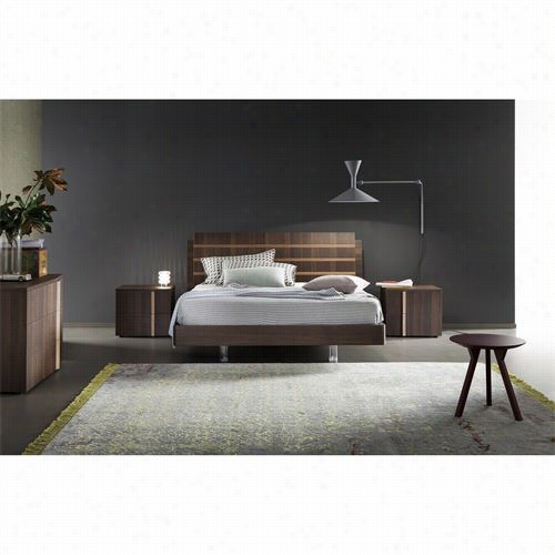 Rossetto 4401601375082 Tratto King Platform Bed