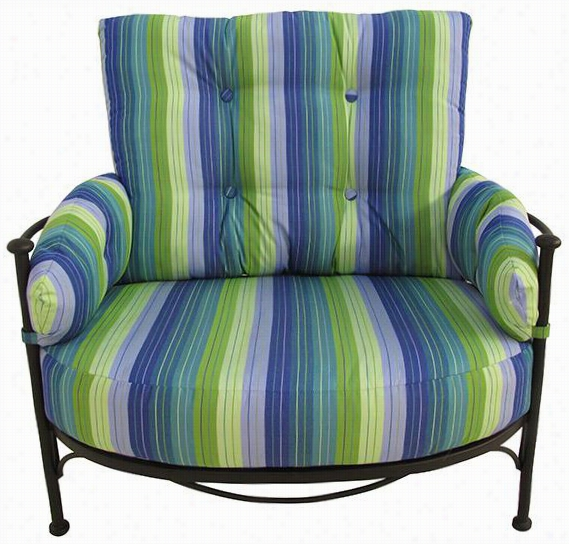 "Luarel All-weather Outdoor Patio Hug Chair - 40""""hx44.5&qu Ot;""wx38.5""""d, Seasode Se Ville Shnbrella"