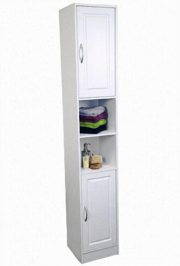 "Organize It Storage Tower - 715""""hx12.25""""w, White"