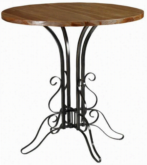 Avery Accent Table - Round, Black