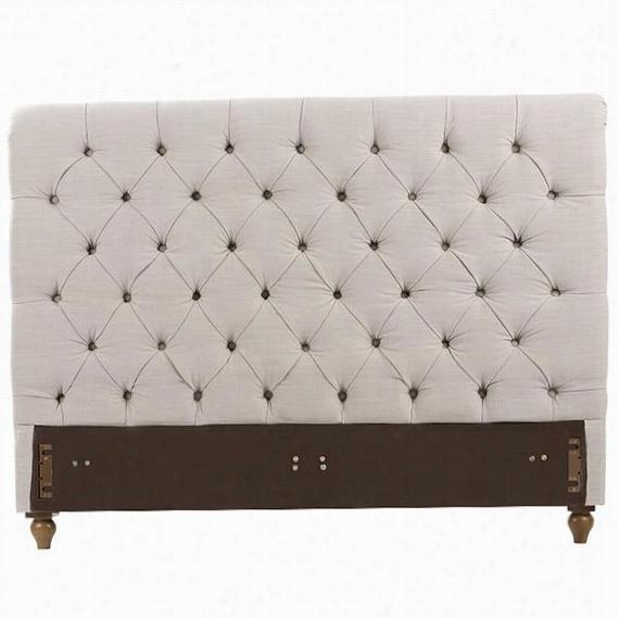 Gordon Upholstered Headboard - Que N, Beige