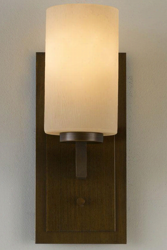 Parker Vanity Light -one Light, Heritage Bronze
