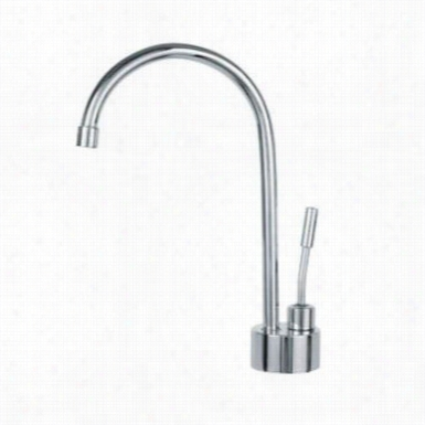 Franke Lb1300 Contemporary Hot Water Only Dispenser In Polished Chrome
