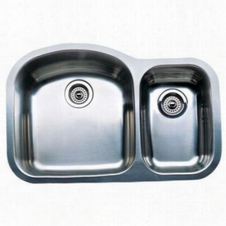 Blanco 440169 Blancowave Plus 1 And  1/2 Bowl Undermoun T Kitchen Sink