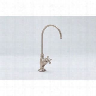 Rohl A1635xm Country Kitchen C Spout Filter Ffaucet With Mini Cross Handle