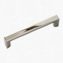 "Hickory Hardware P3112-14 Rotterdam 3-3/4"""" Pull In B Righg Nickel"