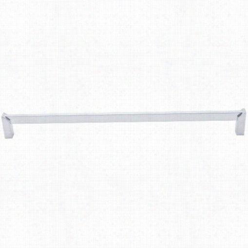 """Top Knobs Tk238alu Meadows Keenness 12"""""""" Cc Square Pull In Aluminum"""