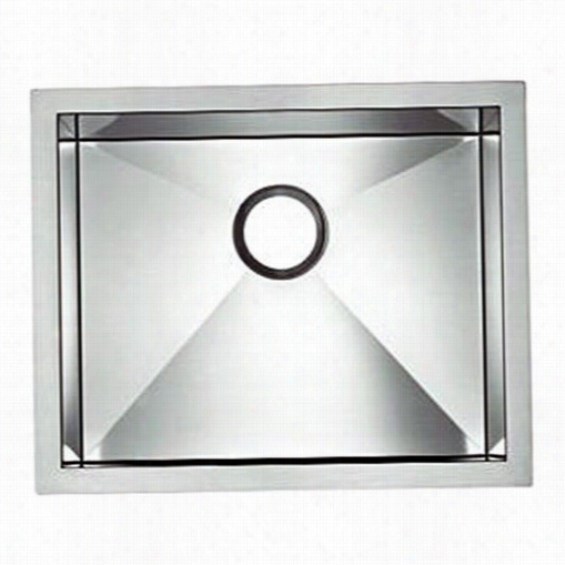Blanco 5161199 Blancoprecisio N 18 Gauge Single Stainless Steel Isngle Bowl Kitchen Sink