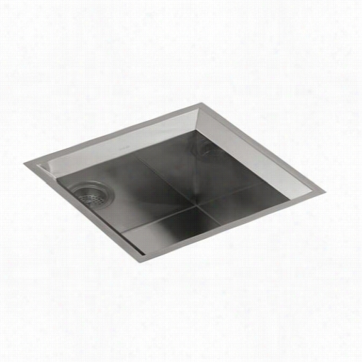 Kohler K-3391-h Poise Undermount Single Bowl Bar Sink With Mirror Finish