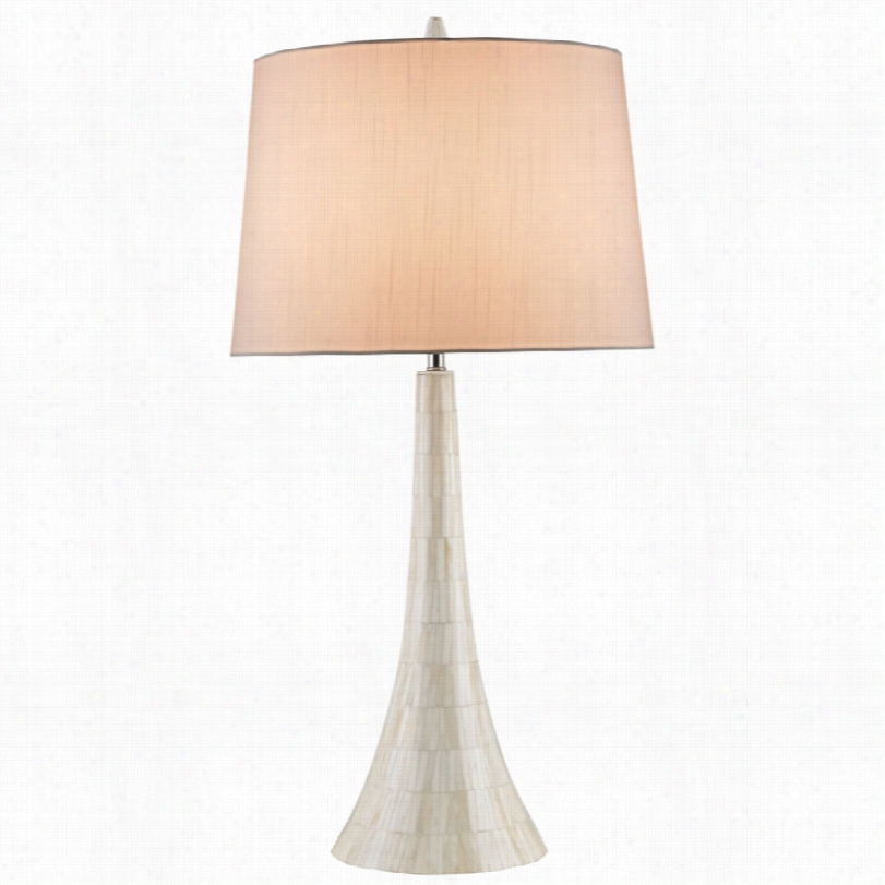 Contemporary Currey And Company Snodrift Cream Bone 30-inch-h Table Lamp