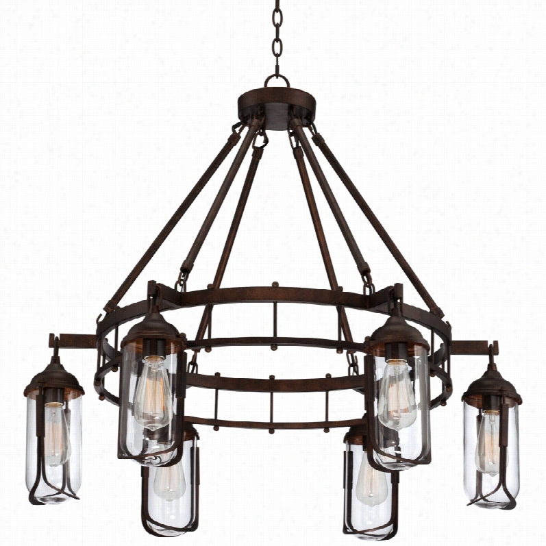 Franklin Iron Works Black Chandelier Ch035 Farm
