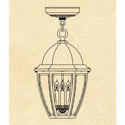 Hanovr Lantern B12621 Large Sturbridge 25w  Per Socket 3 Liht Exterior Glowing Mount