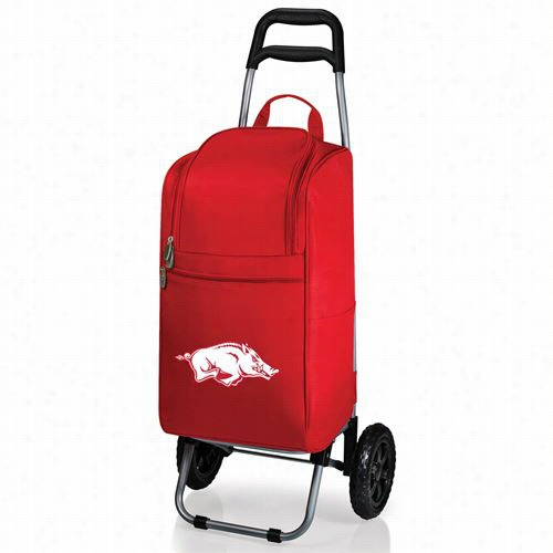 Picnic Time 545-00 University Of Arkansas Razorbacks Digital Rpint Cart Cooler