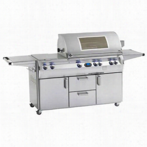 """Firemagic E10060s-4l1 Echelon Diamon D 111""""&quo T; Freestanding Gas Grill With 1056"""""""" Squa R Ecooking Surface  And Sketch Window"""