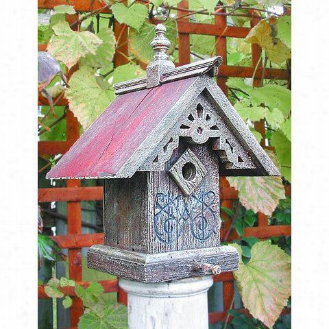 Heart & Eagle 1404 Victorian Sunburst Bird House