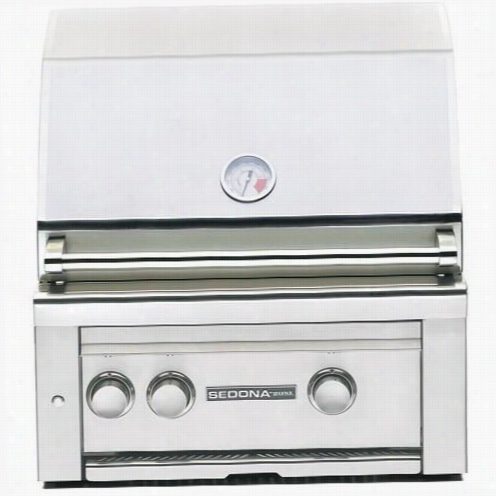 "Lynx L400psr Sedon 24"""" Built In Gas Grill With 575"""" Square Cooking Surface And Rotisserie"