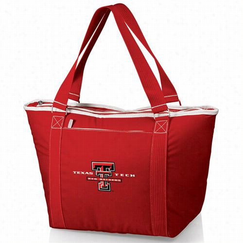 Picnic Time 619-00 Topanga Texas Tech Red Raiders Digital Print Cooler Tote