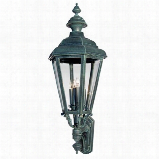 Hanover Lantern B94110 Large Jamestown 2 5w Per Socket 4 Light Outdoor Wall Light