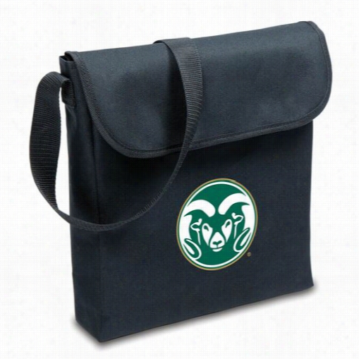 Picn Ic Time 774-00-175-134-0 V-grill Colorado State University Rams Digital Print Bbq Grill In Black