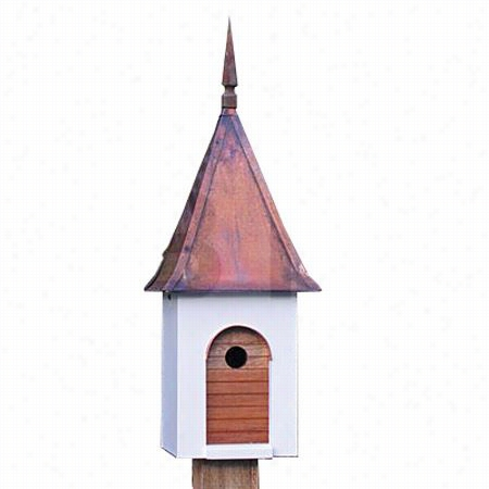 Heartwood 105d French Villa Bird House With Brown Pania Roof