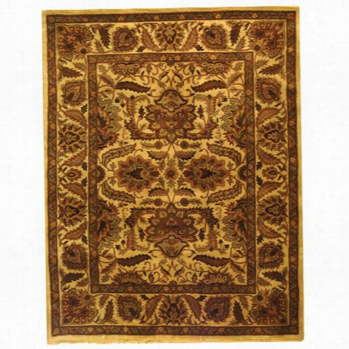 Safavieh Cl239a Classi C Wool Hand Tufted Camel/c Amel Rug