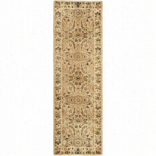 Safavieh Pl170c Pesian Legend Wool A Nd Tufted Crem/eivory Area  Rug