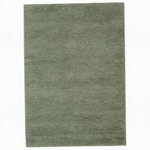 Sfaavieh Tri101f Tribeca Wool Hand Knotted Grey/green Rug