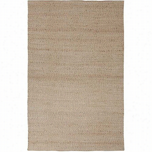 Jaipur Rug10201 Himalaya Natur Als Solid Patte Rn Rayon/jute Taupe/ivory Area Rug