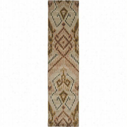 Safavieh Wyd373a Wyndham Wool Hand Tufted Broown/ivory Rug