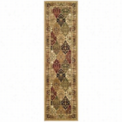 Safavieh Lnh221c Lyndhurst Polypropylene Machine Made Multi/blackk Area Rug