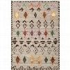 Safavieh KNY812A Kenya Wool Pile Hand Tufted Natural/Multi Rug