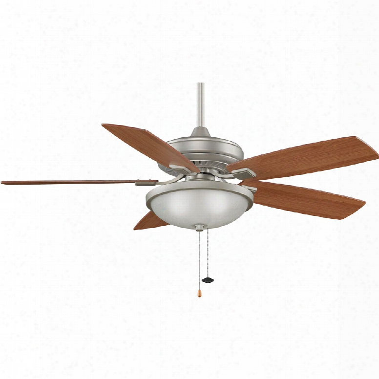 Fanimation Edgewood Ceiling Fan In Satin Nickel