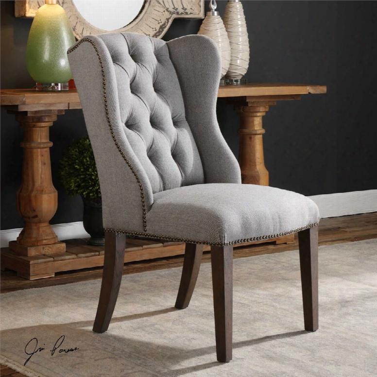 Uttermost Jonna Wingback Accent Chair