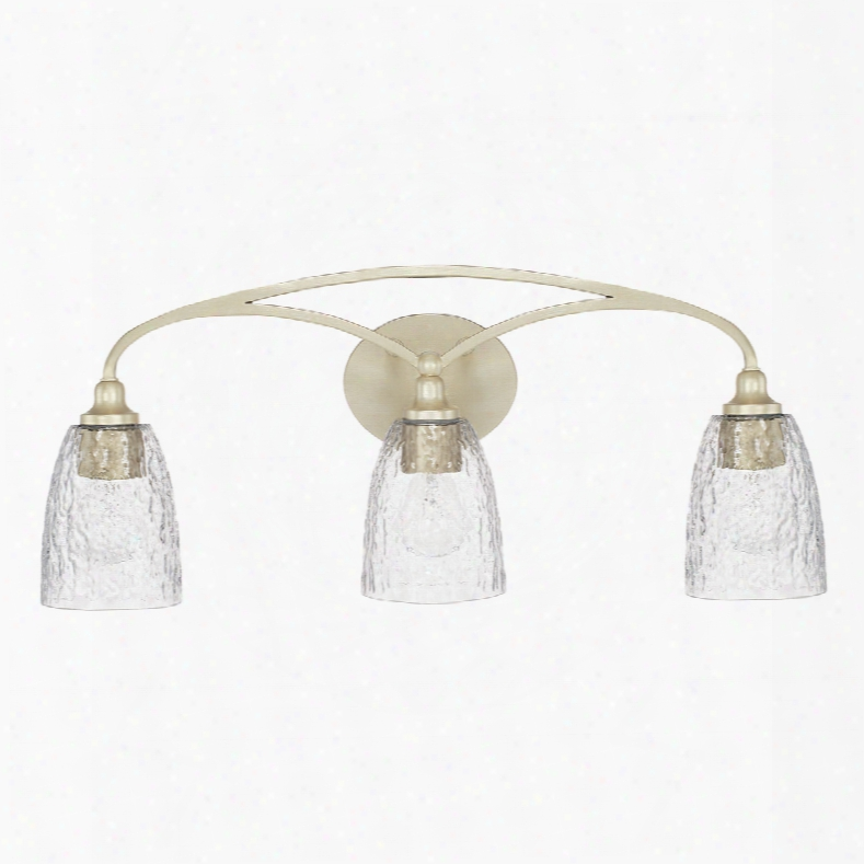 Capital Lighting Seaton 3-light Vanity In Soft Gold