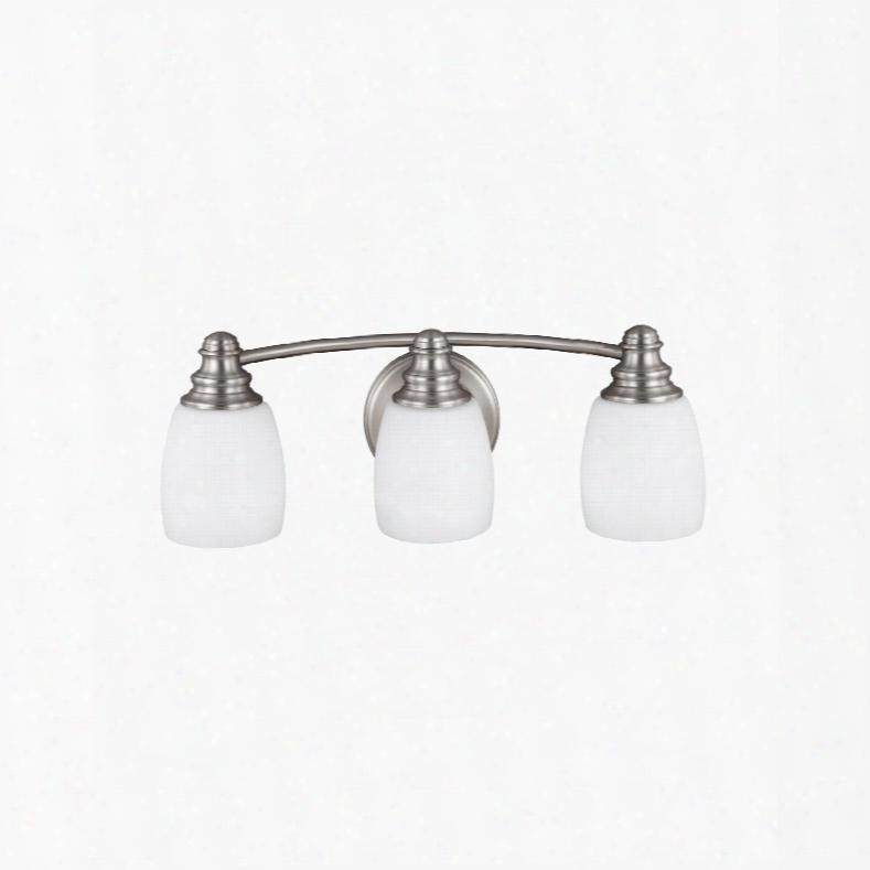 Murray Feiss Bentley 3-light Vanity In Satin Nickel