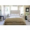 Elements Fine Home Chelsea Tall Panel California King Bed in Seashell