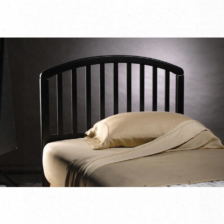 Hillsdale Furniture Carolina Twin Headboard In Black