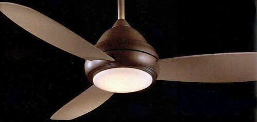 Minka Aire Concept I Wet-rated Ceiling Fan In Oil-rubbed Bronze
