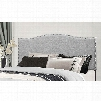 Hillsdale Furniture Kiley King Headboard in Glacier Gray Fabric