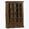 Hillsdale Furniture Tuscan Retreat Double Door Cabinet in Antique Pine