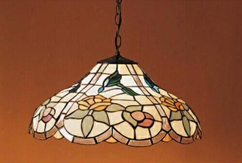 Meyda Tiffany Recurved Hummingbird 1-light Pendant