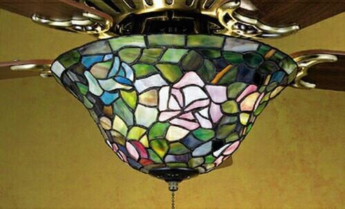 Meyda Tiffany Rosebush Fanlite (light Only)